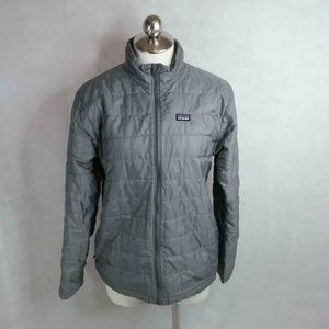 Patagonia Boys Size XXL Nano Puff Jacket Gray